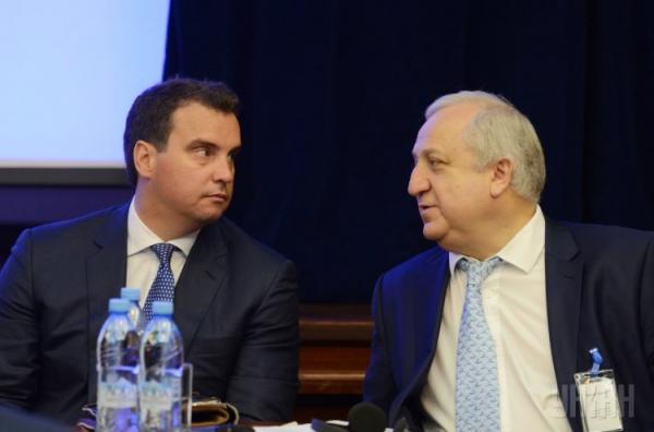 Шевки Аджунер и Айварас Абромавичус