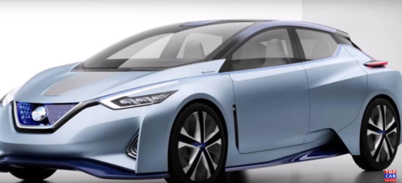 Nissan Leaf 2018 года