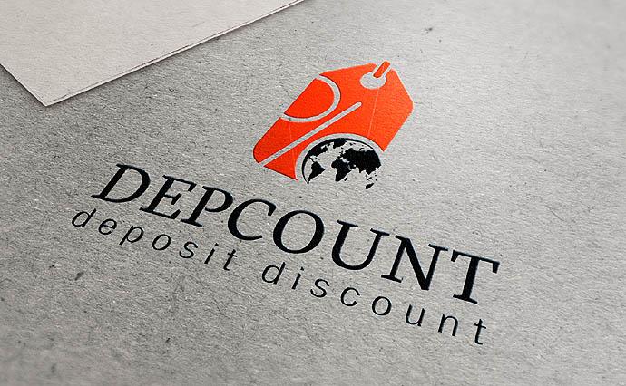 Логотип кэшбэк сервис Depcount