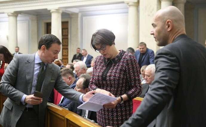Глава комитета Верховной рады по вопросам налоговой и таможенной политики Нина Южанина