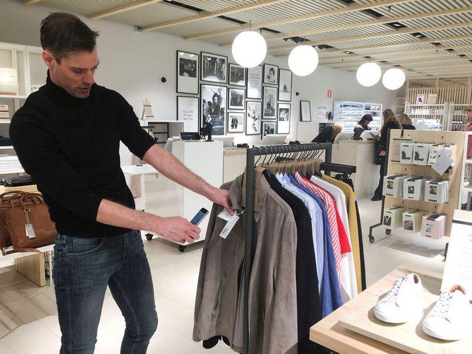 Мережа магазинів одягу H M почала тестувати новий формат торгових точок  менше  товарів 1982aa9b12340
