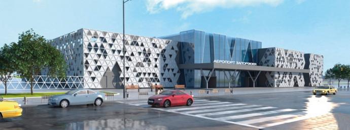 Так аеропорт буде виглядати після завершення будівництва