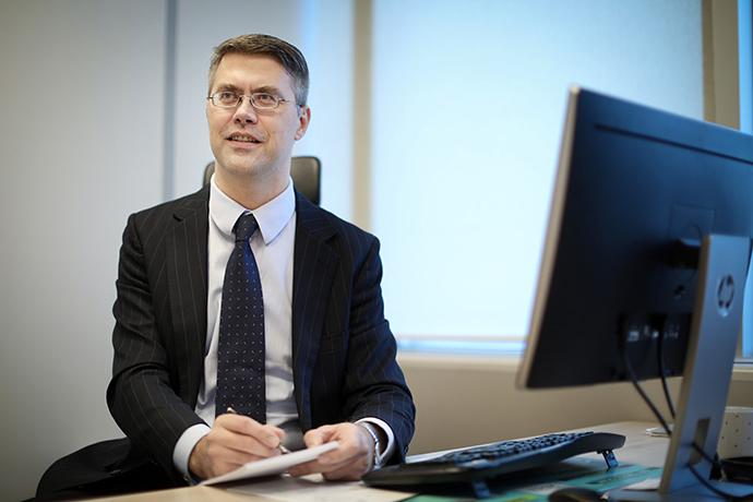Директор з корпоративних питань компанії JTI Україна Гінтас Диргела