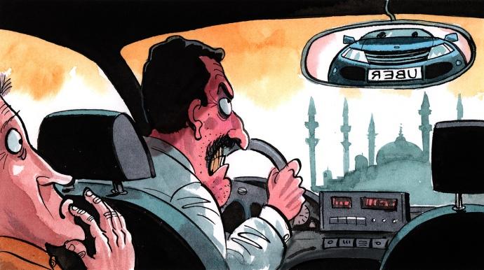 УТуреччині можуть заборонити Uber