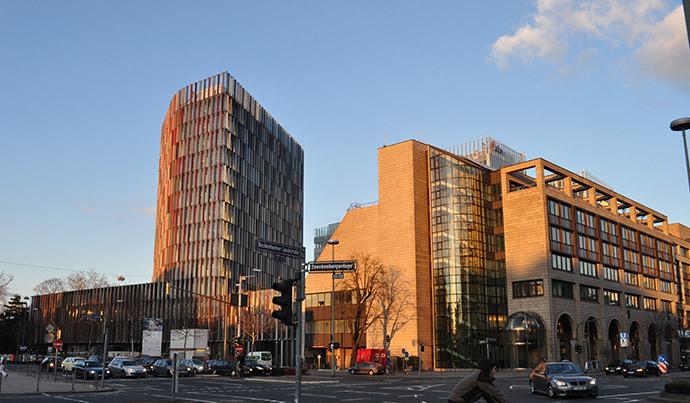 Офіс Kreditanstalt für Wiederaufbau у Франкфурті