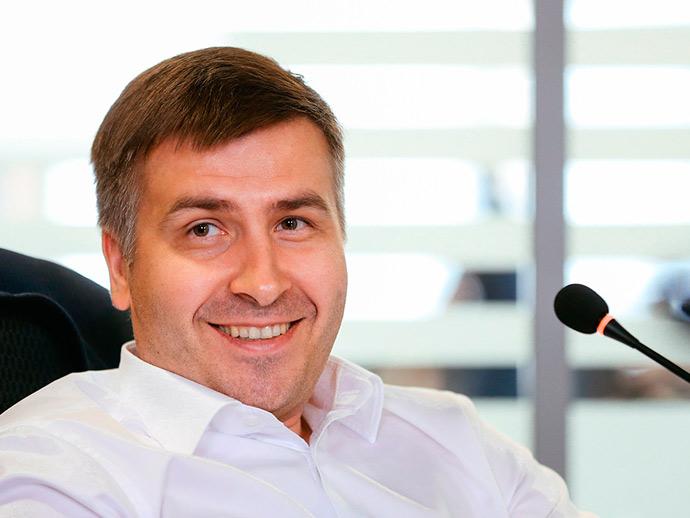 Голова електроного бізнесу Альфа Банку Україна Максим Патрін