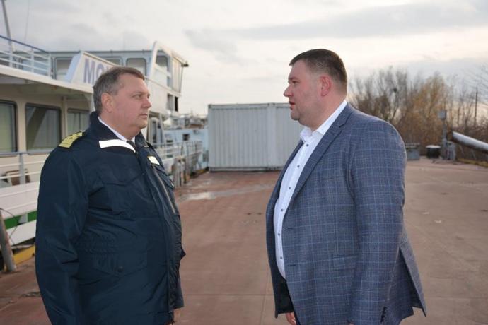 Дмитро Чалий (справа)