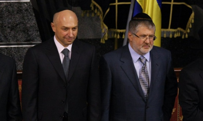 Геннадій Боголюбов та Ігор Коломойський