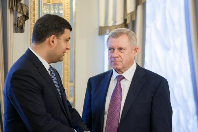 Володимир Гройсман та Яків Смолій