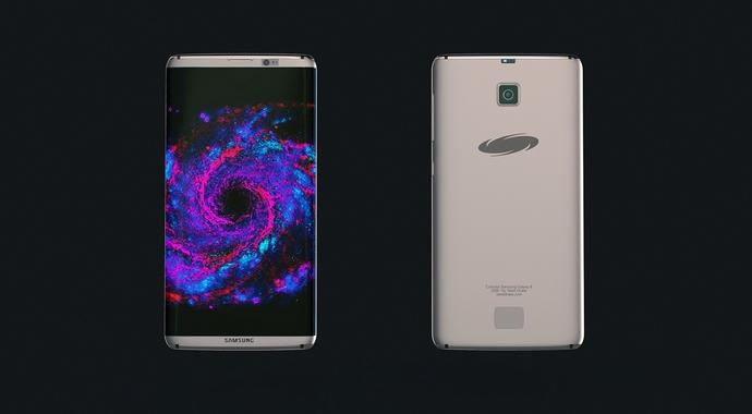 Концепт смартфона Galaxy S8