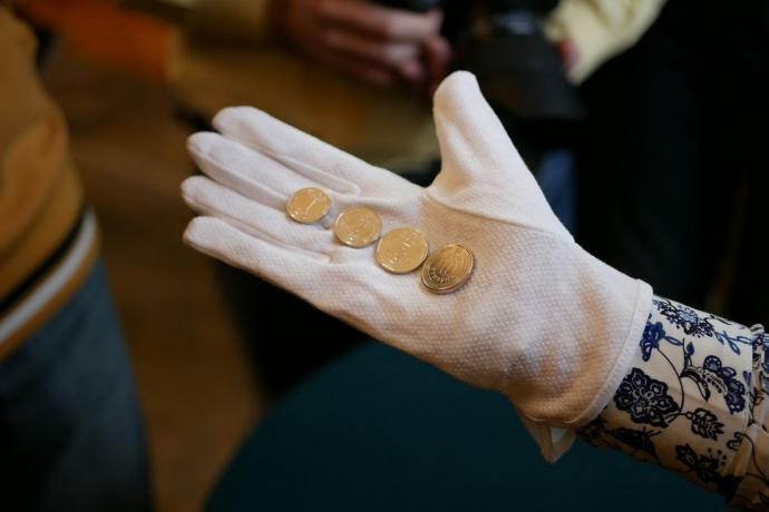 Нацбанк выпустил монету вчесть добровольческих батальонов