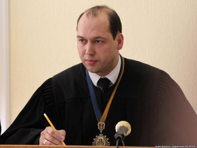 Судья Печерского райсуда Сергей Вовк