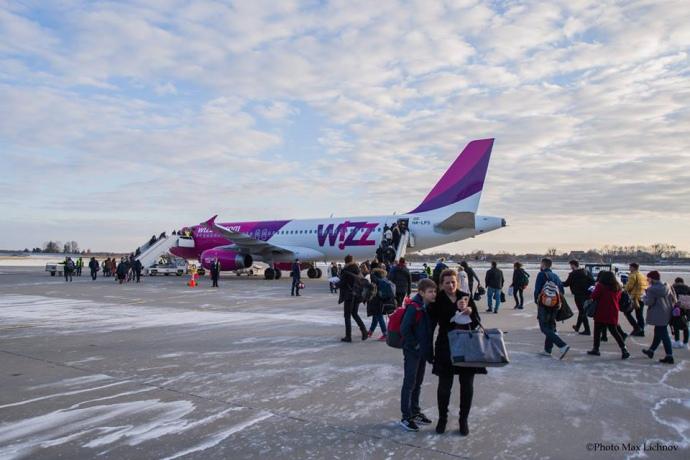 Wizz Air вчервні подвоїть частоту польотів Львів-Берлін