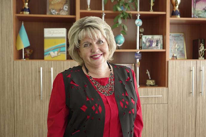 Директорка ліцею Ірина Каракулова