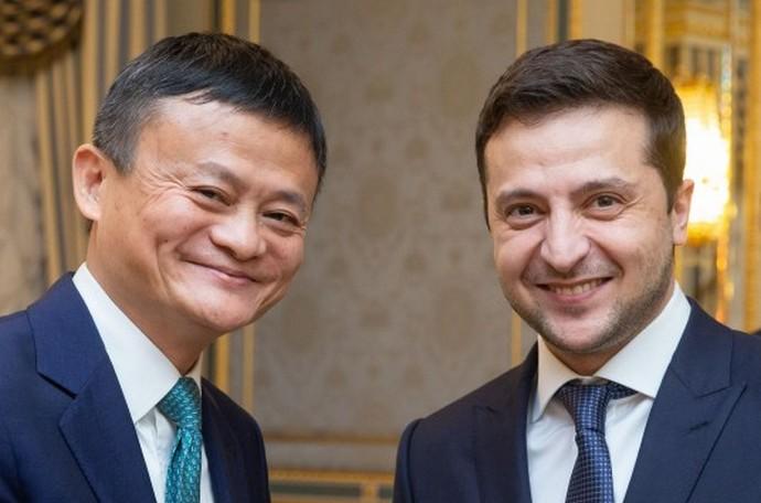 Зеленський зробив пропозицію засновнику Alibaba