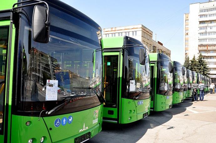 17 нових автобусів МАН уже курсують вулицями Житомира