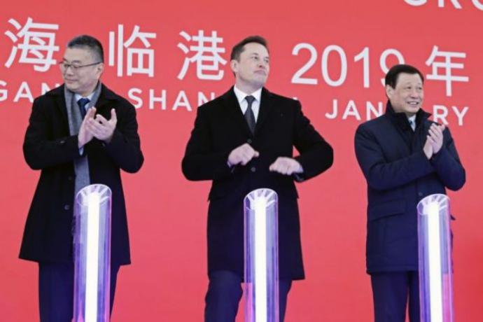 КНР предоставил компании Tesla кредит на $521 млн назавод вШанхае