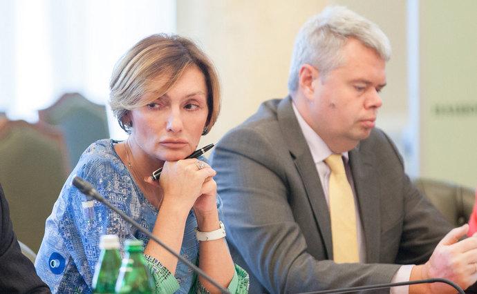 Катерина Рожкова і Дмитро Сологуб