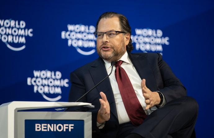 Глава компанії Salesforce Марк Беніофф