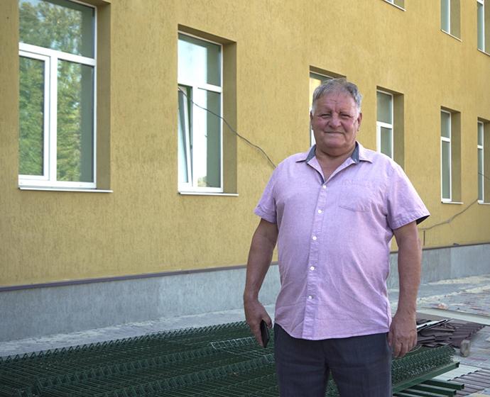 Ігор Нікулочкін, голова Біленьківської сільської ради