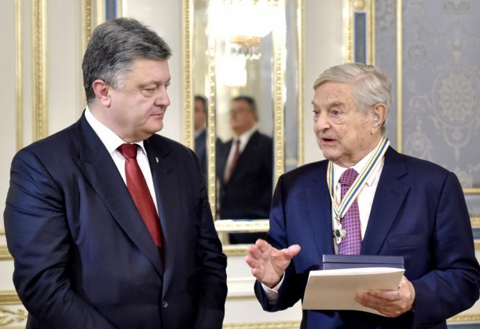 Петро Порошенко та Джордж Сорос
