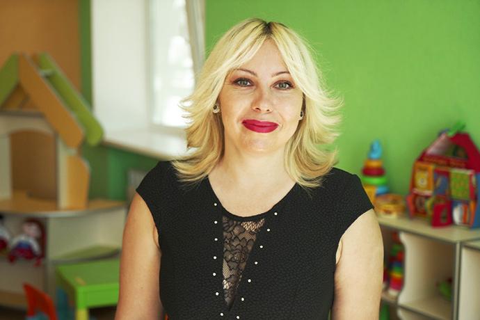 Тетяна Мотичкіна, директорка закладу
