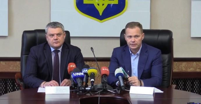 Олег Майборода и Игорь Кушнир