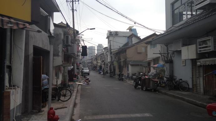 Типичный квартал исчезающего
