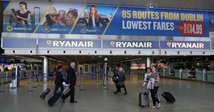 Бортпровідники Ryanair проведуть страйк в Іспанії, Португалії таБельгії