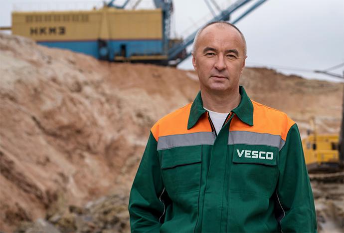Володимир Петрович Черняков, головний інженер VESCO