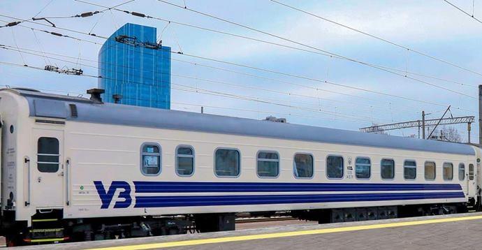 «Укрзализныця» сформировала поезд Киев-Лисичанск изобновленных вагонов