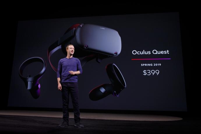 Facebook представила нові VR-окуляри