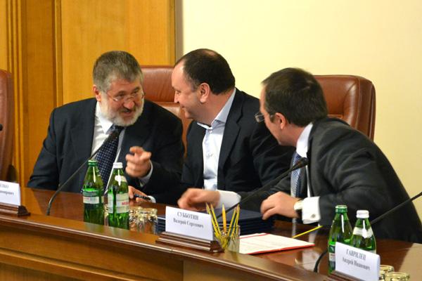 Ігор Коломойський та Павло Овчаренко