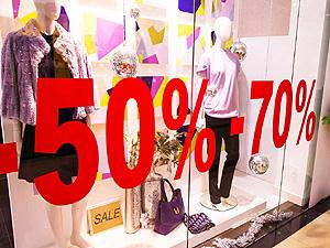 8e6259ffc5e0e Сезон распродаж: в каких магазинах больше скидки   Экономическая правда